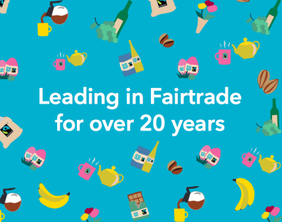 Leading in Fairtrade for over 20 years