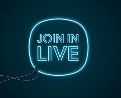 Join in live symbol
