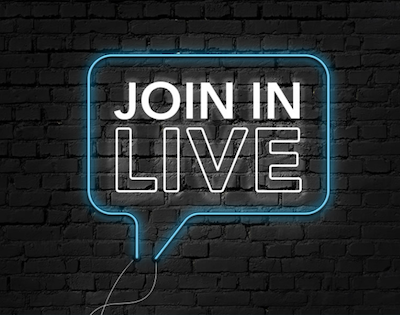 Join In Live Logo
