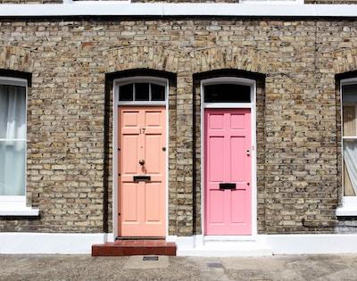 Neighbours Front Doors
