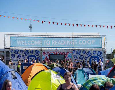 festival campsite